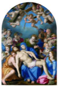 Agnolo Bronzino, Deposition of Christ, 1543-1545, Besançon, Musée des Beaux-Arts et d'Archéologie.