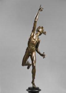 Giambologna, Mercury, ca. 1585, Vienna, Kunsthistorisches Museum.