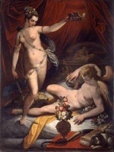 Jacopo Zucchi, Cupid and Psyche, 1589, Rome, Galleria Borghese.