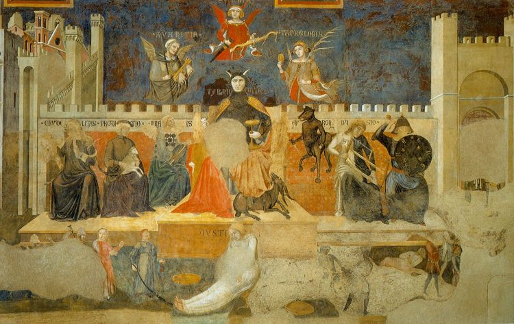 Ambrogio Lorenzetti, The Allegory of a Bad Government,