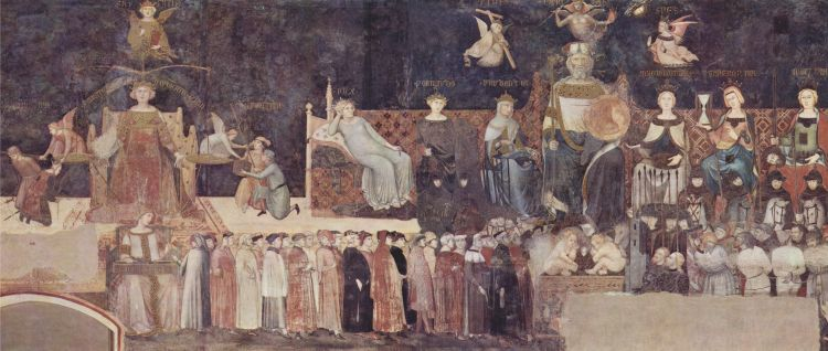 Ambrogio Lorenzetti, The Allegory of a Good Government