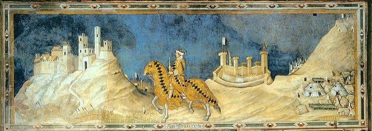 Simone Martini, Guidoriccio da Fogliano