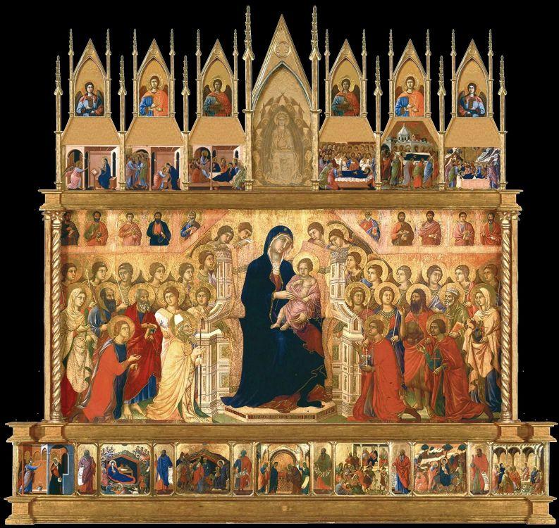 Duccio di Buoninsegna, Maestà,