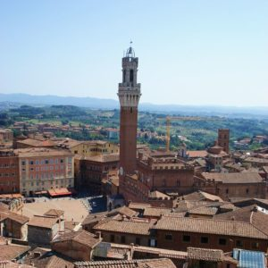 View on Siena