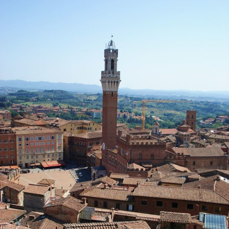 View on Siena