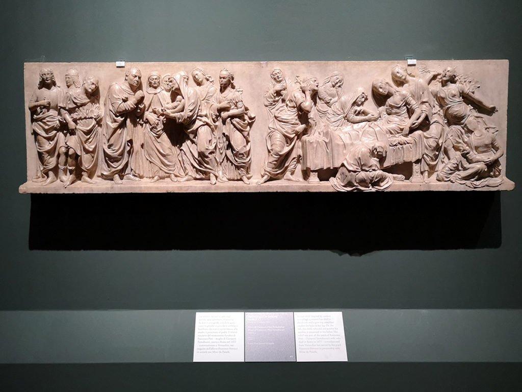 Francesco di Simone Ferrucci, Muerte de Francesca Pitti Tornabuoni, ca. 1480.