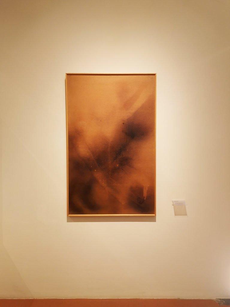 Yves Klein, Marque de feu – empreinte d'un nu (F7), 1961.