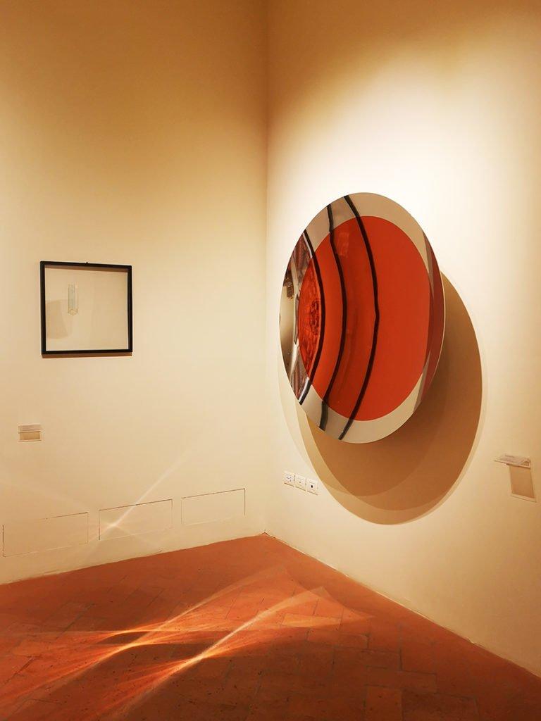 Anish Kappor, Untitled (Orange), 2015.