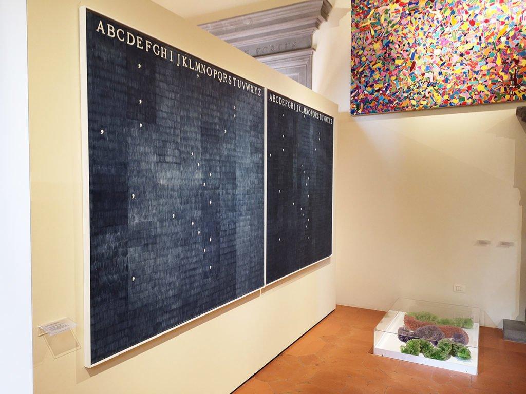 Alighiero Boetti, Mettere al Mondo il Mondo, 1972-73.