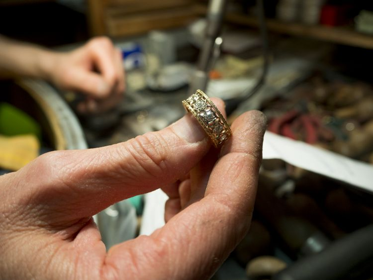 Artisan jewellery in Florence
