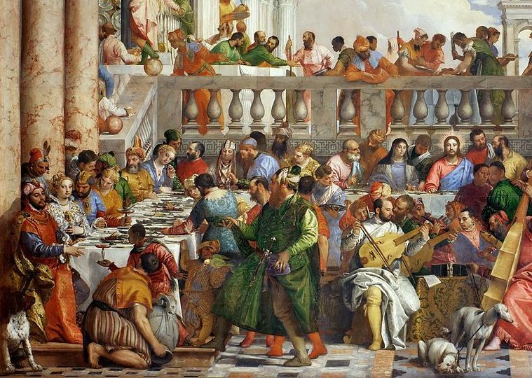 Veronese, Wedding in Cana, detail.