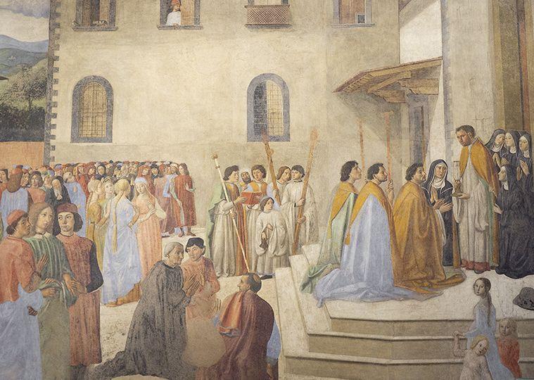 Cosimo Rosselli, Sant'Ambrogio Procession