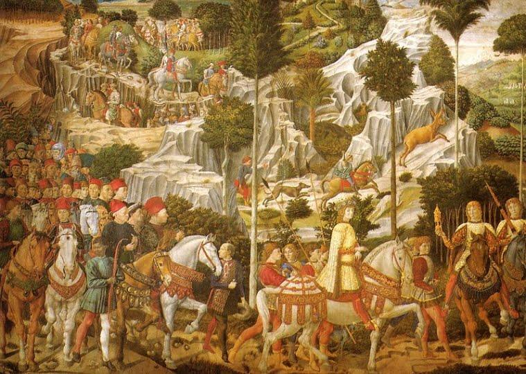 Benozzo Gozzoli, Caspar, Magi Chapel, Florence.
