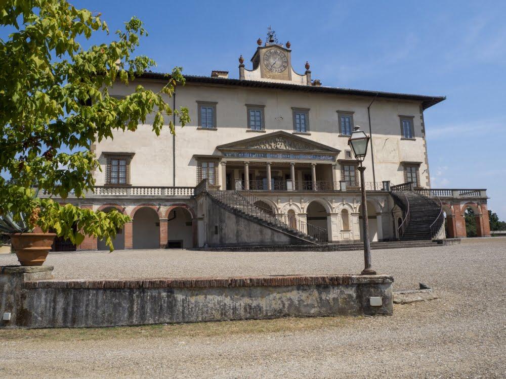 Medici's Villa in Poggio a Caiano