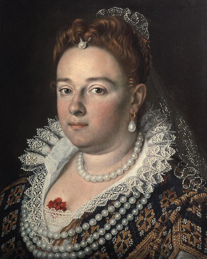 Scipione Pulzone, Portrait of Bianca Cappello.
