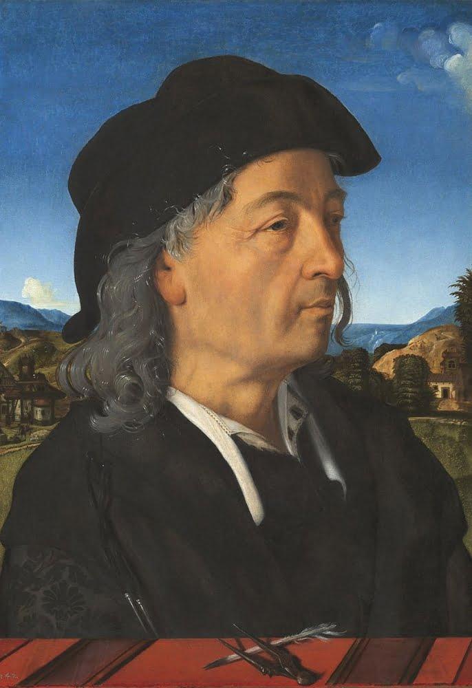 Piero di Cosimo, Portrait of Giuliano da Sangallo, 1482-83, Rijksmuseum, Amsterdam.