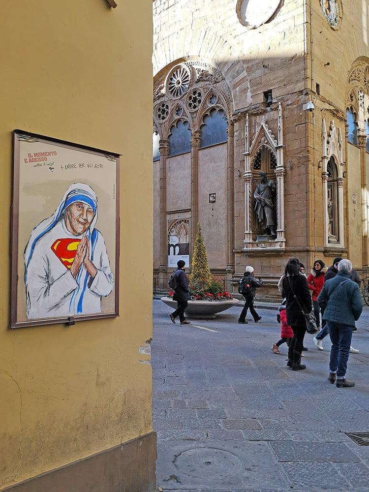 Madre Teresa, Lediesis,