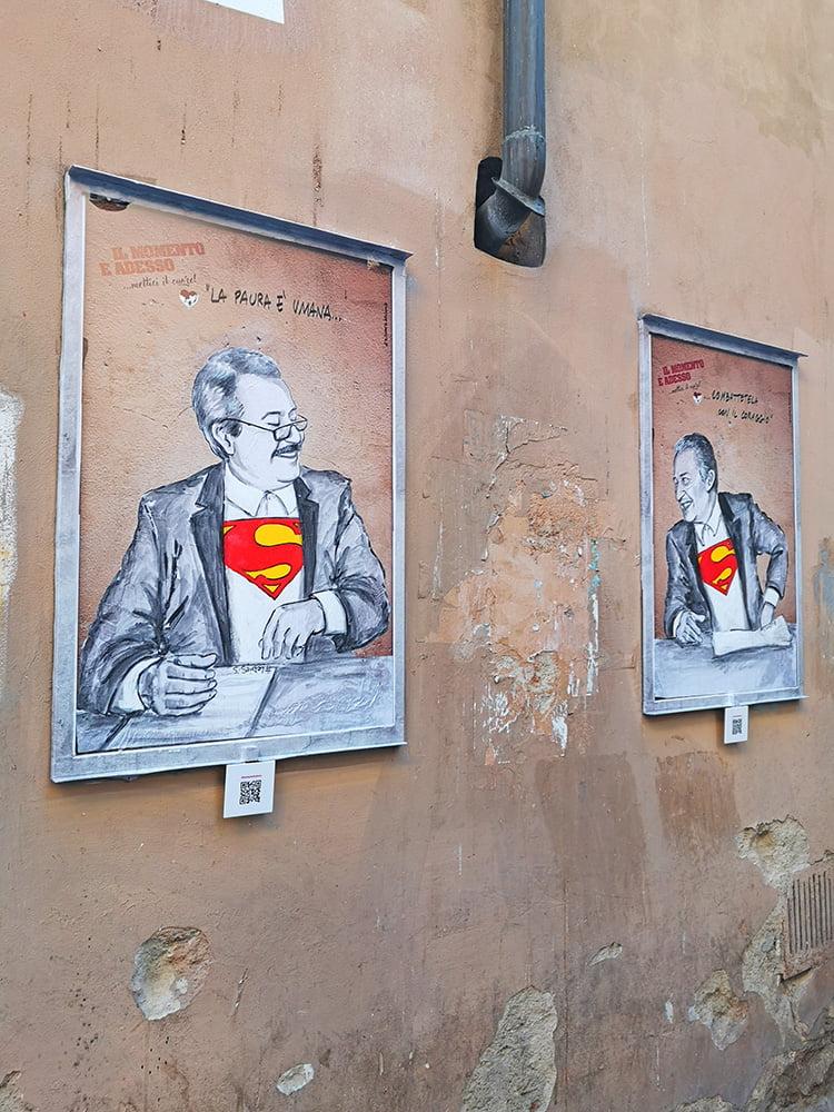 Lediesis, Falcone e Borsellino, via Santa Monaca, Firenze.