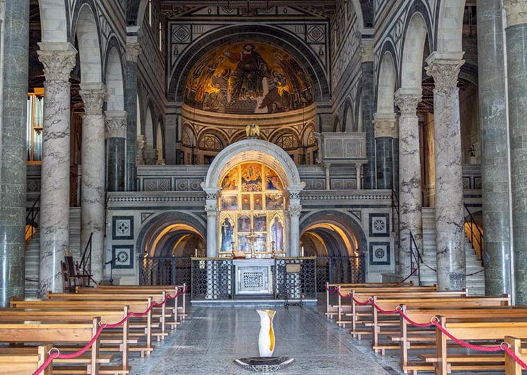 San Miniato al Monte, Florence.
