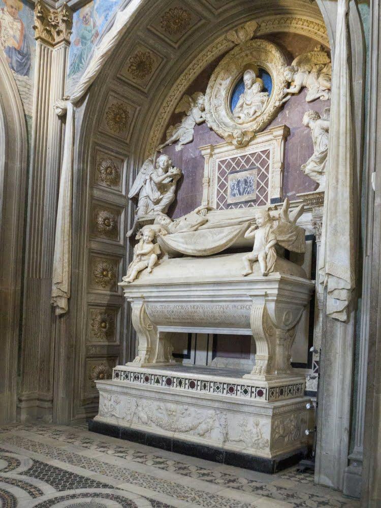 Antonio Rosellino, Funerary Monument of the Cardinal of Portugal.