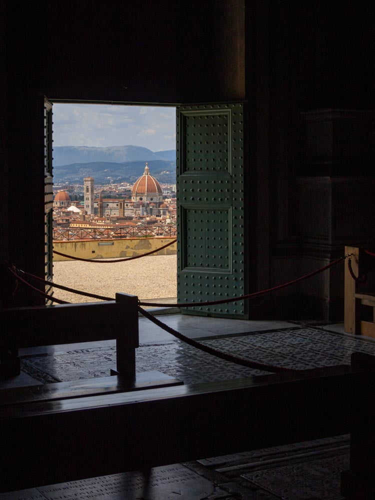 View on the Cathedral from San Miniato al Monte.