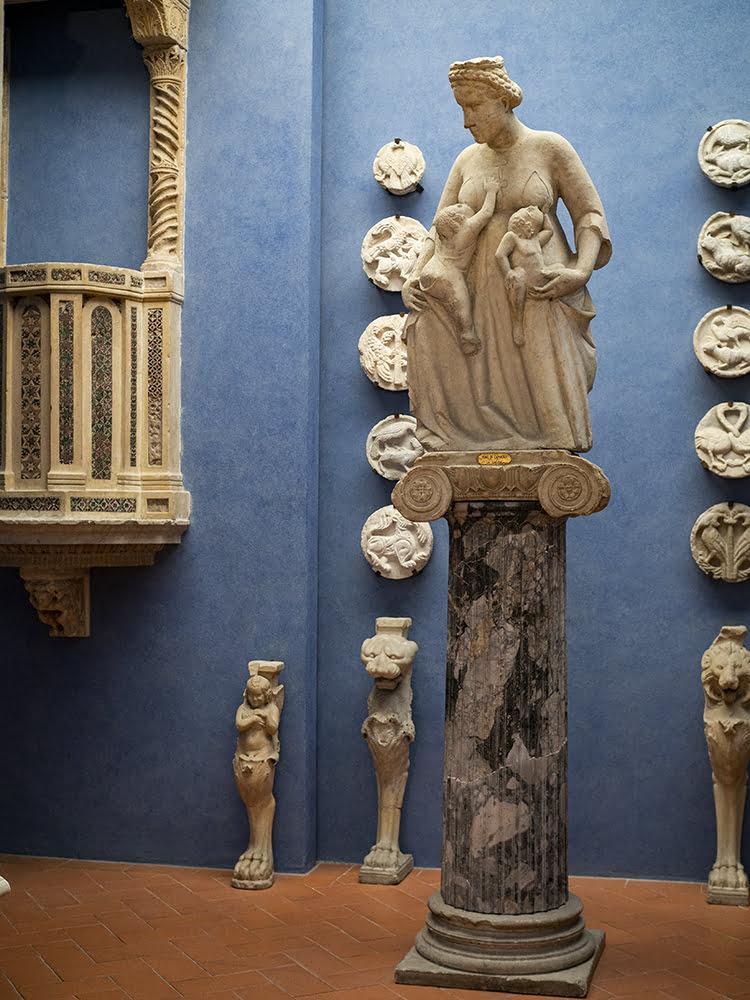 Tino di Camaino, Charity, 14th century, Bardini Museum, Florence.